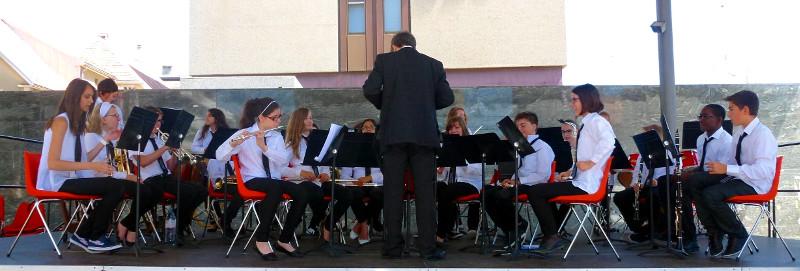 Concert de l'ensemble des Cadets
